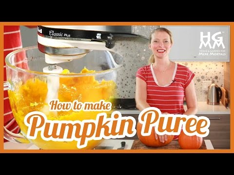 How To Make Pumpkin Puree