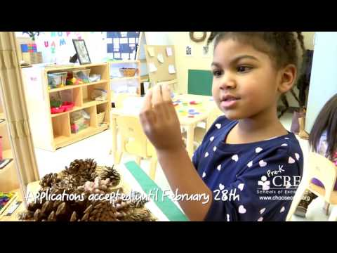 Find the right preschool for your child. Choose CREC!