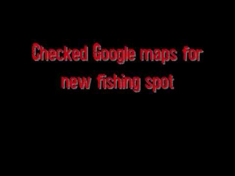 Strange find using Google maps for fishing spots!