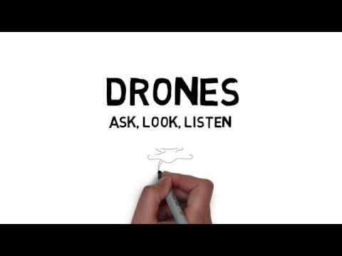 RAF Drone Safety | Ask, Look, Listen