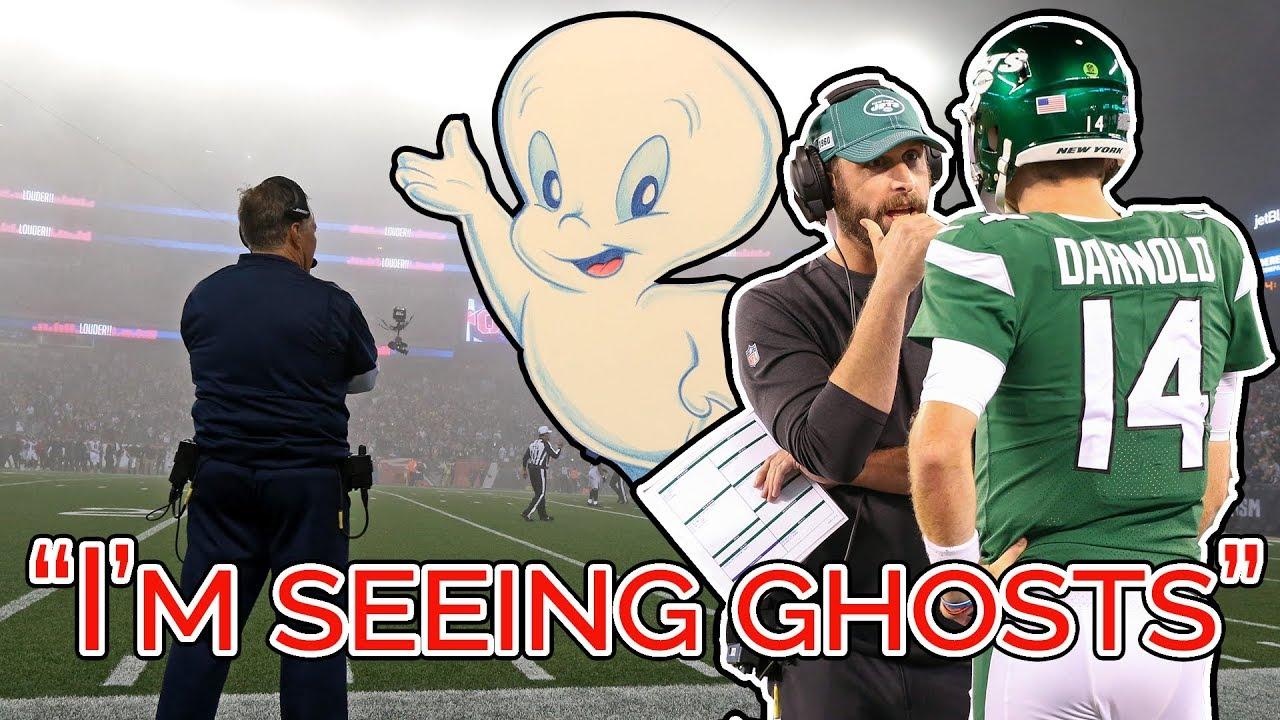"""I'm Seeing Ghosts."" - Sam Darnold 👻👻👻"