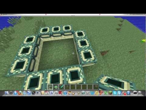 First Video. How To Build Teleport To Ender Dragon.