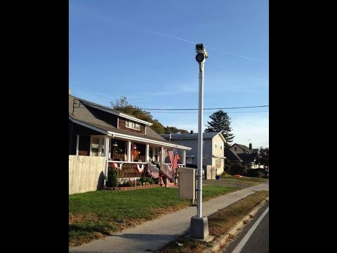10/29/2015: Suffolk County Red Light Camera installed on Homeowner's Property