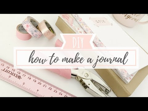 How To Make Your Own Journal: Step by Step for Beginners