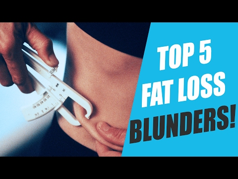 TOP 5 Fat Loss Dieting Mistakes