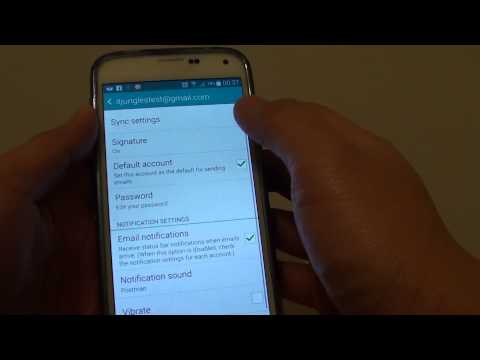 Samsung Galaxy S5: Set How Far Back in Time to Sync Emails From Server