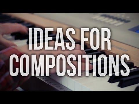 Ideas for Compositions: Guitar Accompaniment