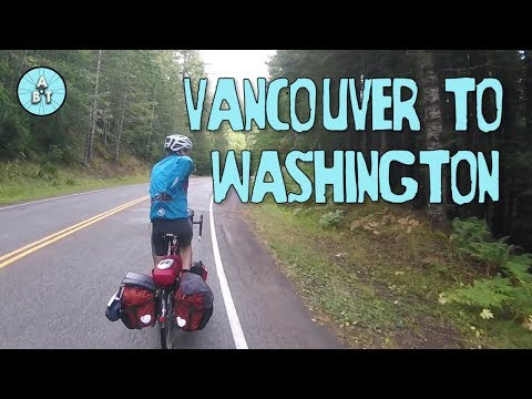 Cycling from Vancouver through Washington|  Adventure Bike Touring