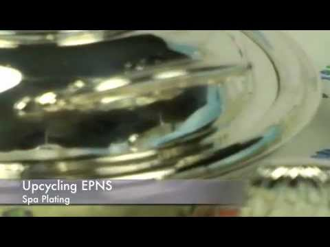 Silver plating on EPNS