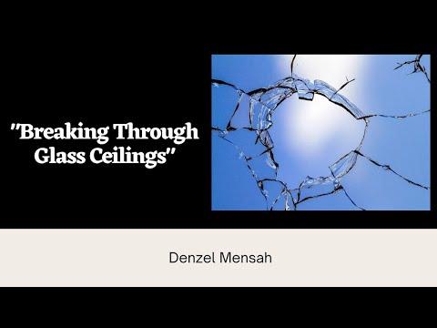 Breaking Through Glass Ceilings