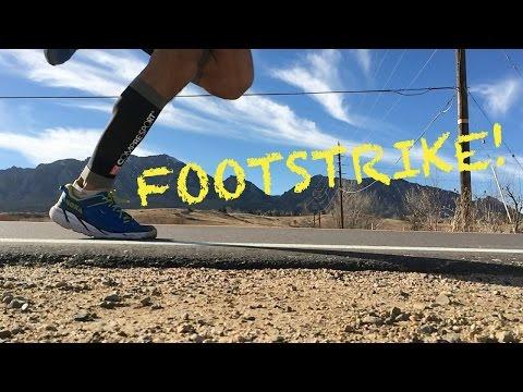 Proper Running Footstrike: Forefoot vs. Heel-strike vs. Midfoot Technique