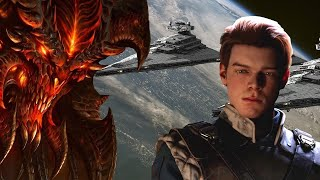 Star Wars Jedi: Fallen Order Impressions, Diablo 4 and Overwatch 2 rumors & MORE (1hr LIVE show)