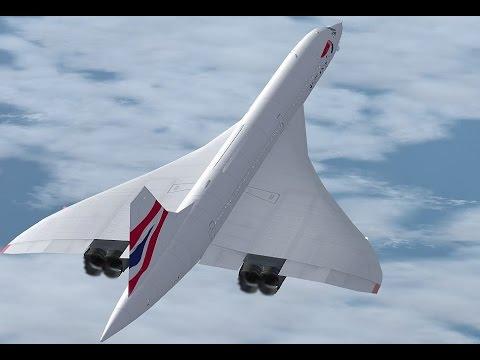 Concorde flight Harare, Zimbabwe