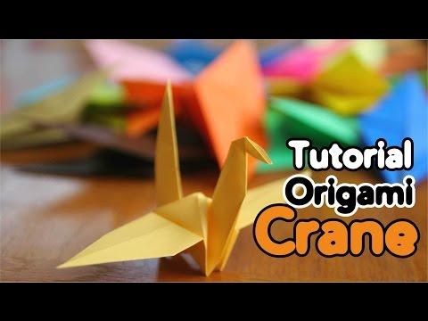 Origami Crane Instructions - Basic Tutorial