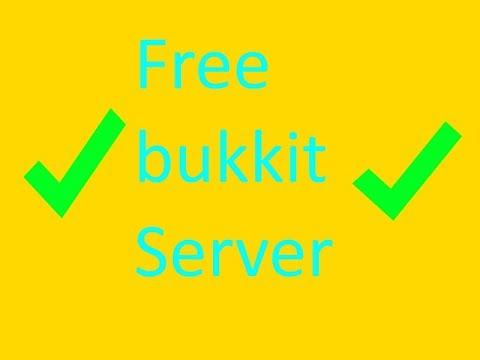 HOW TO MAKE A BUKKIT SERVER FOR FREE!!