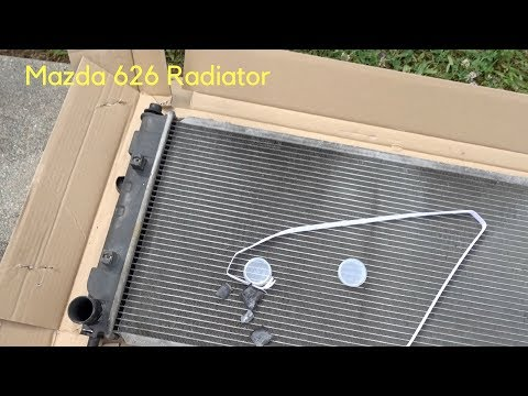 How To Replace a Radiator 2000 Mazda 626 V6