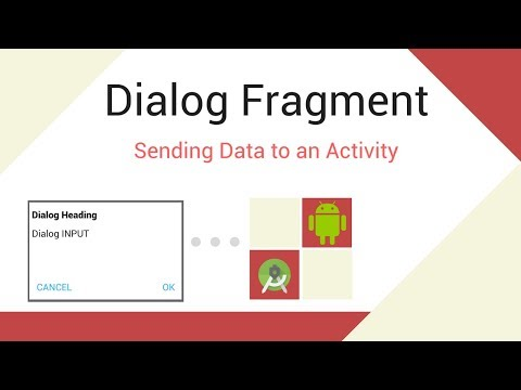 Android Dialog Fragment to Activity