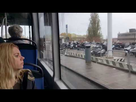 From Mestre to Venice by bus