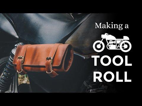 Making a Motorcycle Tool Roll Bag ⧼Week 20/52⧽