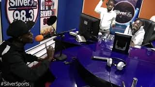 Comic Kumawood Actor 'LilWin' on SilverSports with KingEben