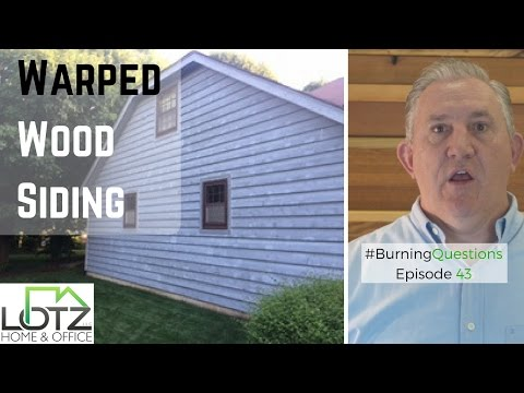 Warped Wood Siding | How to Fix Dry and Rotten Wood Siding