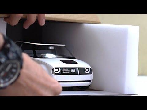 Unboxing of Honda Urban EV Concept 1:18 Scale Diecast Model Car