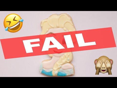 Elsa Inspired Sugar Cookie