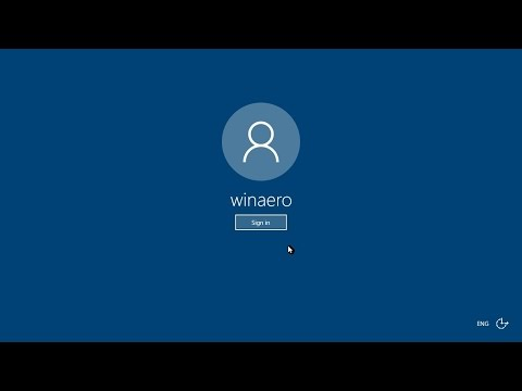Power Button on Sign-in Screen - Remove or Hide in Windows 10
