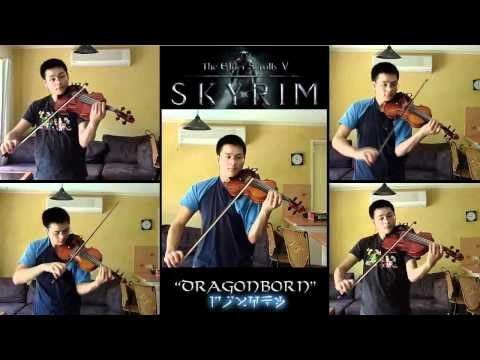 The Elder Scrolls V: Skyrim 'Dragonborn' String Quintet
