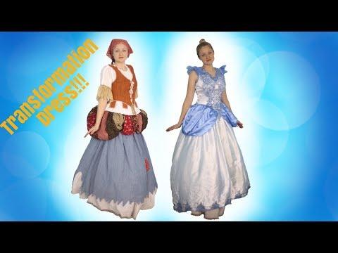 How To Make A Princess Transformation Dress!