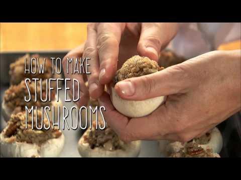 Stuffed Mushrooms Taste Treat