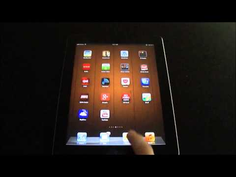 Tech Tip #38 iPad - How to take a screenshot of your iPad