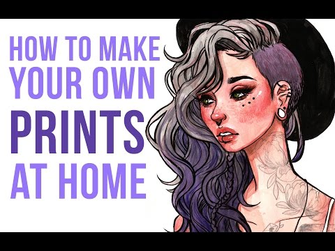 How to Print Your Own Art Prints at Home