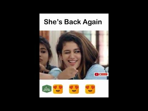 Priya Prakash Varrier New Video | Priya Prakash Varrier Is Back