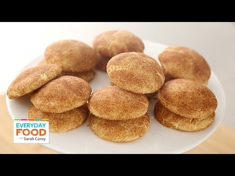 No-Fail Snickerdoodle Recipe - Everyday Food with Sarah Carey