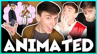 becoming a cartoon thomas sanders feat butch hartman