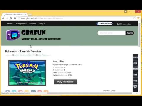 How to play Pokemon Emerald online.
