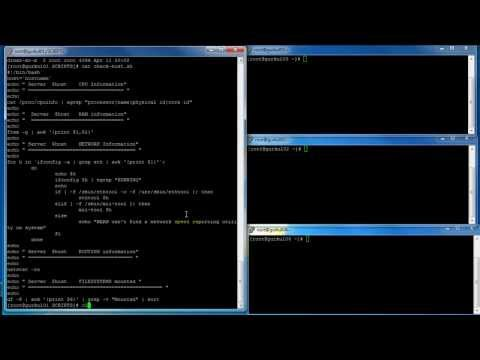 linux checking system configuration mp4