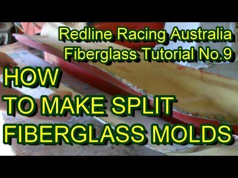 How to Make Fibreglass Split Moulds
