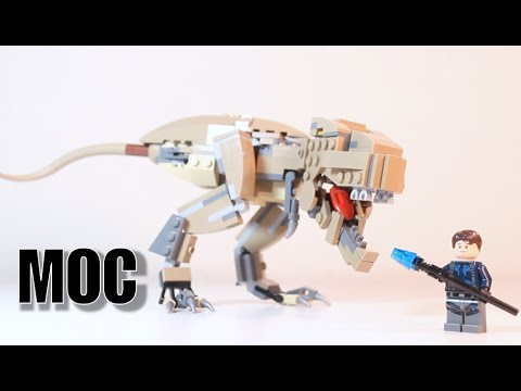LEGO Jurassic World: Brick-Built Tyrannosaurus Rex!