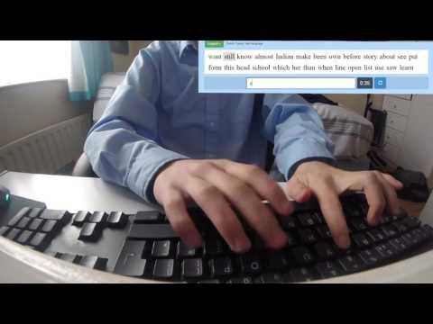 Typing Speed Test 99 WPM
