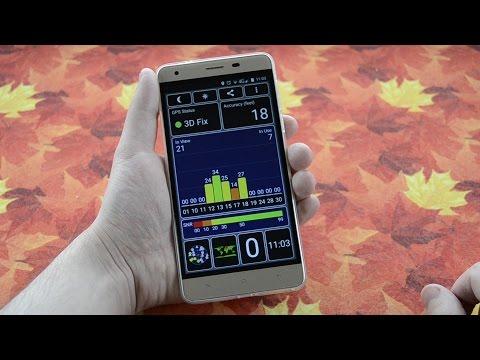 Oukitel K6000 Pro GPS Test