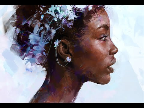 Painting a Digital Portrait in Photoshop