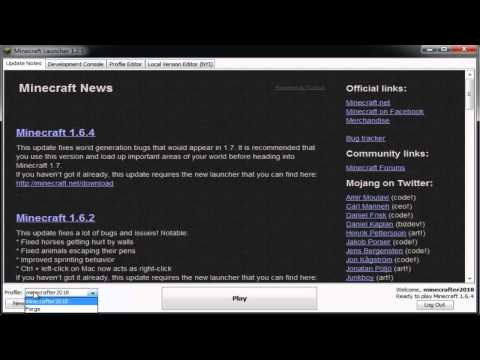 Minecraft: How To Switch From Minecraft 1.6.4 To 1.6.2 (2013) (HD) (FAST,SIMPLE, EASY)
