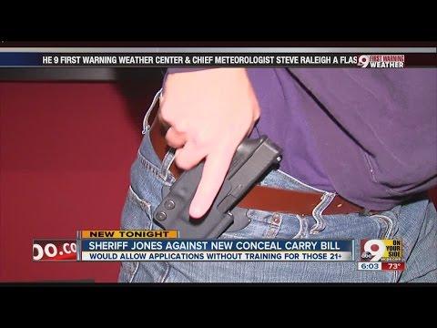 Sheriff blasts bill that wouldn't require gun training