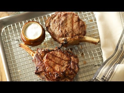 How to Grill Veal Chops - Cook Taste Eat Ep. 2
