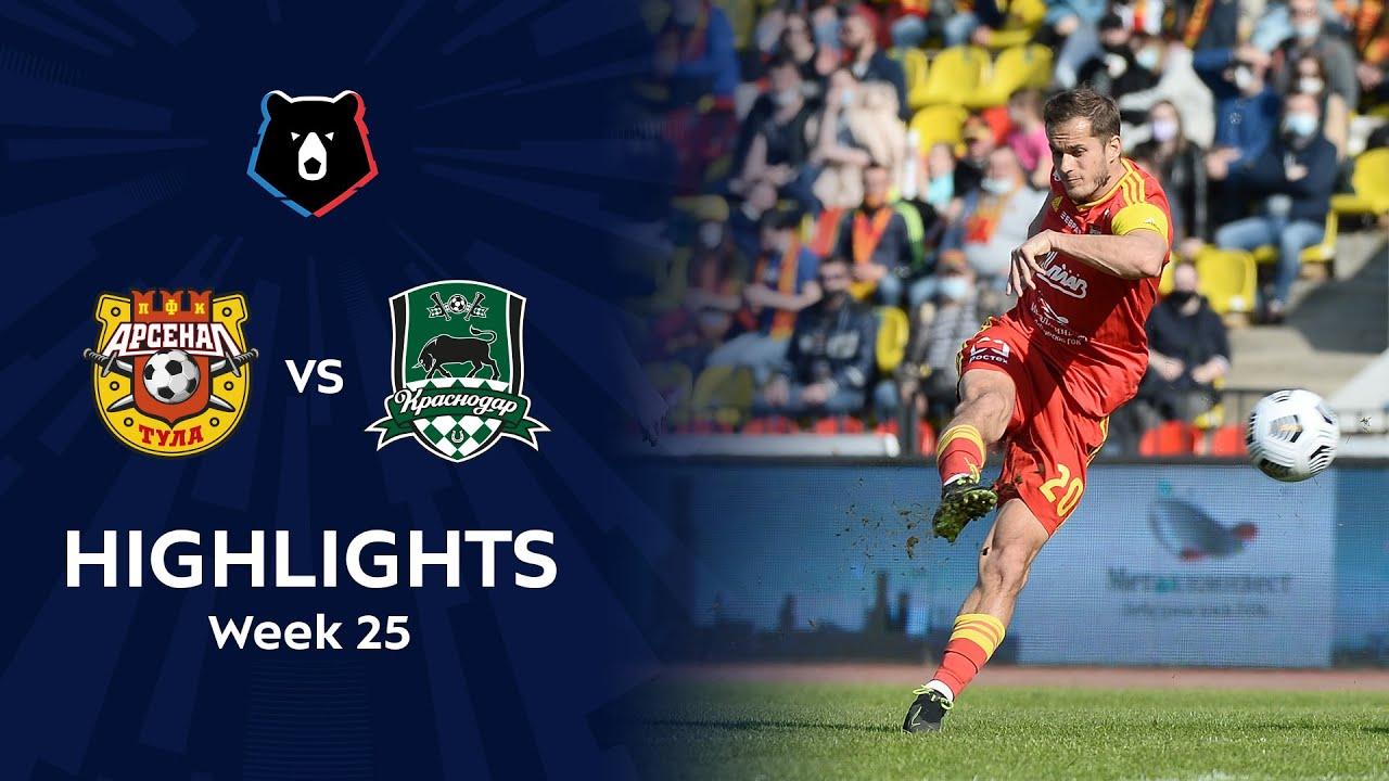 Highlights Arsenal vs FC Krasnodar (1-0) | RPL 2020/21