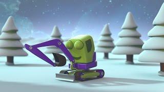 Christmas Cartoon Digger Special - Digger Claus