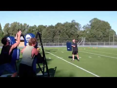 521 DEFENSE FORM TACKLE SLED DRILL-1/1