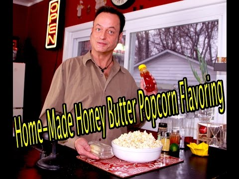 Home-Made Gluten-Free Honey Popcorn Flavoring